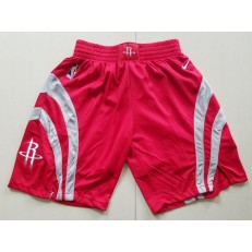 Houston Rockets Red Icon Nike Swingman Shorts