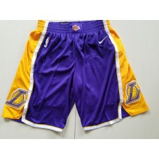 Los Angeles Lakers Purple Statement Nike Swingman Shorts
