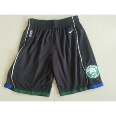 Milwaukee Bucks Black Nike Authentic Shorts