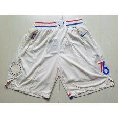 Philadelphia 76ers Cream City Edition Nike Swingman Shorts