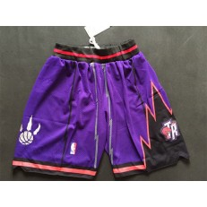 Toronto Raptors Purple Adidas Swingman Shorts