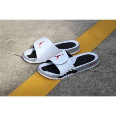 AIR JORDAN HYDRO 5 WHITE RED BLACK 555501-112