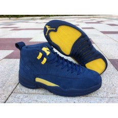 AIR JORDAN 12 RETRO MICHIGAN BQ3810-407