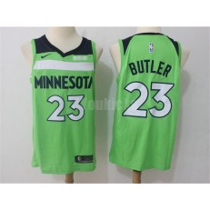 Minnesota Timberwolves #23 Jimmy Butler Green Nike Swingman Men Jersey