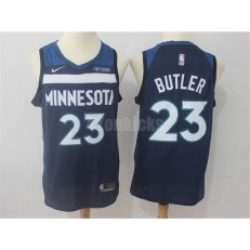 Minnesota Timberwolves #23 Jimmy Butler Navy Blue Nike Swingman Men Jersey