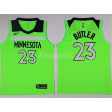 Minnesota Timberwolves #23 Jimmy Butler New Green 2017-2018 Nike Swingman Stitched Men Jersey