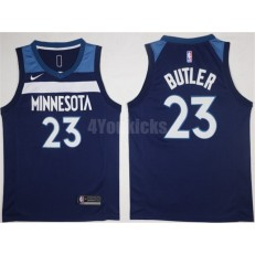 Minnesota Timberwolves #23 Jimmy Butler New Navy Blue 2017-2018 Nike Swingman Stitched Men Jersey