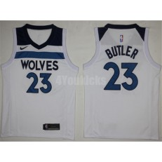Minnesota Timberwolves #23 Jimmy Butler New White 2017-2018 Nike Swingman Stitched Men Jersey