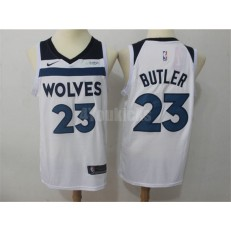 Minnesota Timberwolves #23 Jimmy Butler White Nike Swingman Men Jersey