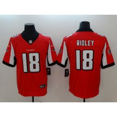Atlanta Falcons #18 Calvin Ridley Red Vapor Untouchable Limited Nike NFL Men Jersey