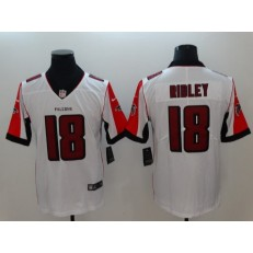 Atlanta Falcons #18 Calvin Ridley White Color Rush Vapor Untouchable Limited Nike NFL Men Jersey