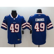 Buffalo Bills #49 Tremaine Edmunds Royal Vapor Untouchable Limited Nike NFL Men Jersey