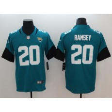 Jacksonville Jaguars #20 Jalen Ramsey Teal Youth New Vapor Untouchable Player Limited Nike NFL Men Jersey