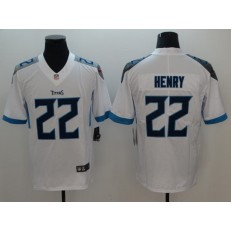 Tennessee Titans #22 Derrick Henry White Youth New Vapor Untouchable Player Limited Nike NFL Men Jersey