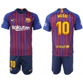 2018-19 Barcelona 10 MESSI Home Soccer Men Jersey