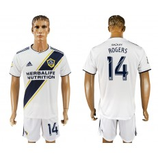 2018-19 Los Angeles Galaxy 14 ROGERS Home Soccer Men Jersey