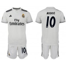 2018-19 Real Madrid 10 MODRIC Home Soccer Men Jersey