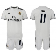 2018-19 Real Madrid 11 BALE Home Soccer Men Jersey