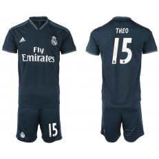 2018-19 Real Madrid 15 THEO Away Soccer Men Jersey