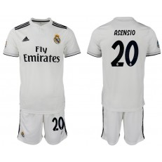 2018-19 Real Madrid 20 ASENSIO Home Soccer Men Jersey