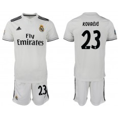 2018-19 Real Madrid 23 KOVACIC Home Soccer Men Jersey