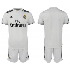 2018-19 Real Madrid Home Soccer Men Jersey