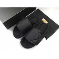 YEEZY SEASON 6 BLACK GRAPHITE NYLON SLIPPER