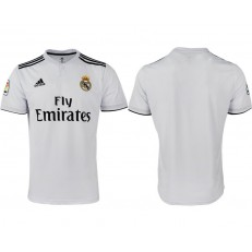 2018-19 Real Madrid Home Thailand Soccer Men Jersey