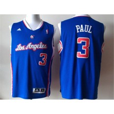 Los Angeles Clippers #3 Chris Paul Blue New Revolution 30 Men Jersey