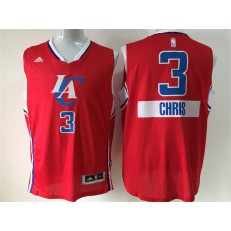 Los Angeles Clippers #3 Red 2014-15 Christmas Day Swingman Men Jersey