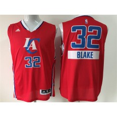 Los Angeles Clippers #32 Blake Griffin Red 2014-15 Christmas Day Swingman Men Jersey