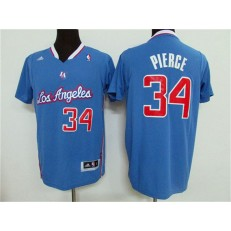 Los Angeles Clippers #34 Paul Pierce Light Blue Pride Swingman Men Jersey