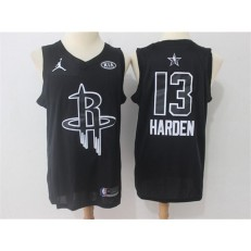 Houston Rockets #13 James Harden Black NBA Jordan Swingman 2018 All-Star Game Men Jersey