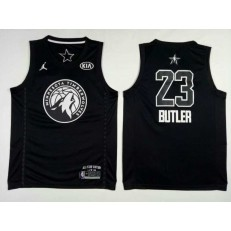 Minnesota Timberwolves #23 Jimmy Butler Black NBA Jordan Swingman 2018 All-Star Game Men Jersey