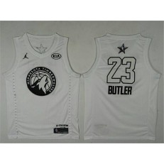 Minnesota Timberwolves #23 Jimmy Butler White NBA Jordan Swingman 2018 All-Star Game Men Jersey