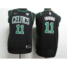 Boston Celtics #11 Kyrie Irving Black Nike Authentic Youth Jersey