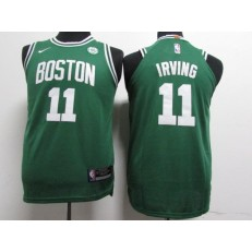 Boston Celtics #11 Kyrie Irving Green Nike Authentic Youth Jersey