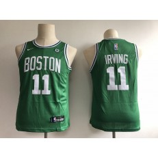 Boston Celtics #11 Kyrie Irving Green Nike Swingman Youth Jersey