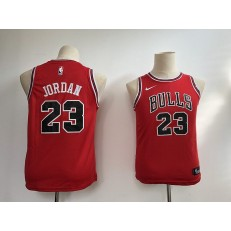 Chicago Bulls #23 Michael Jordan Red Nike Swingman Youth Jersey