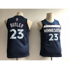 Minnesota Timberwolves #23 Jimmy Butler Navy Blue Nike Swingman Youth Jersey