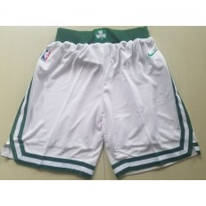 Boston Celtics Nike White Swingman Men Shorts