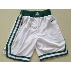 Boston Celtics Nike White Swingman Youth Shorts