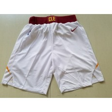 Cleveland Cavaliers Nike White Swingman Men Shorts
