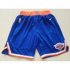 New York Knicks Nike Blue Swingman Men Shorts