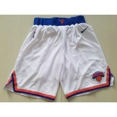 New York Knicks Nike White Swingman Men Shorts