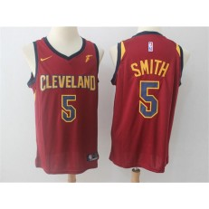 Cleveland Cavaliers #5 J.R. Smith Red Nike Swingman Men Jersey