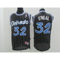 Orlando Magic #32 Shaquille O'Neal Black New Revolution 30 Men Jersey