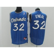 Orlando Magic #32 Shaquille O'Neal Blue New Revolution 30 Men Jersey
