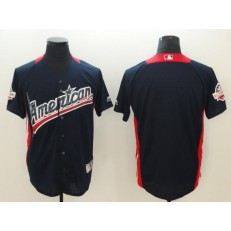 American League #Navy 2018 MLB All-Star Game Home Run Derby Team Men Jersey