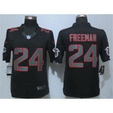 Atlanta Falcons #24 Devonta Freeman Black Impact Limited Nike NFL Men Jersey